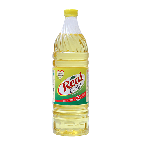REAL GOLD REFINED SOYABEAN OIL 1LTR