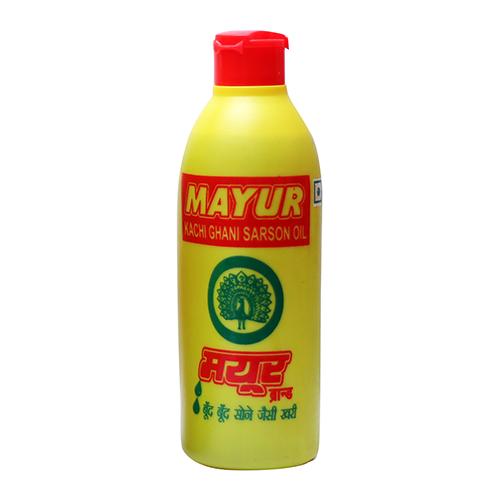 MAYUR KACHI GHANI MUSTARD OIL 200ML