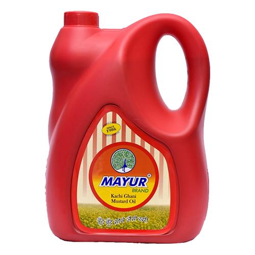 MAYUR KACHI GHANI MUSTARD OIL 5LTR