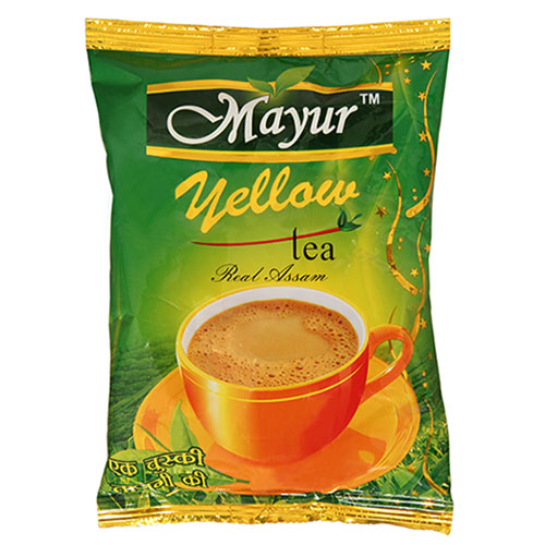 MAYUR VALLEY YELLOW REAL ASSAM CTC TEA 250GM POLYPACK