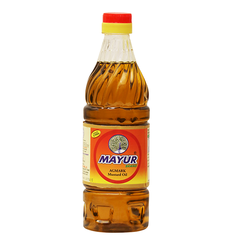 MAYUR KACHI GHANI MUSTARD OIL 500 ML