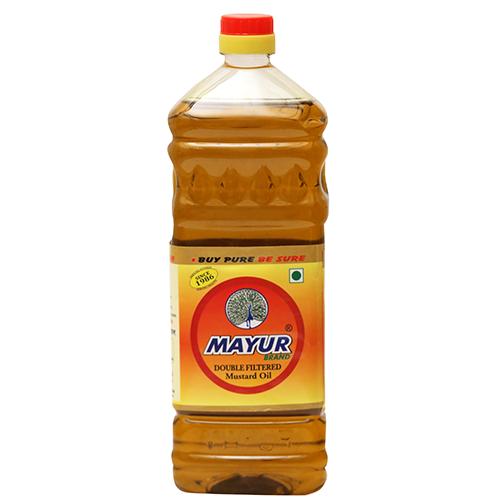MAYUR DOUBLE FILTERED SARSON OIL 1LTR
