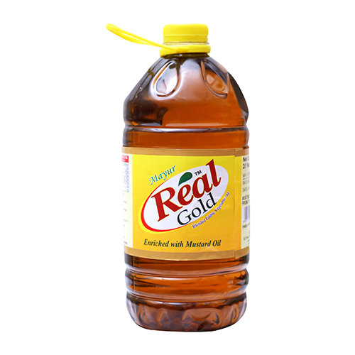 REAL GOLD BLENDED EDIBLE VEGETABLE OIL 2LTR